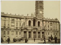 Roma. Santa Maria Maggiore. 1889