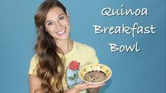 Quinoa Breakfast Bowl Recipe w/ Elizabeth - HASfit - Free Full Length Workout Videos and Fitness Programs Quinoa Breakfast Bowl, Breakfast Recipes, Fitness Programs, Workout Programs, Workout Videos, Healthy Recipes, Youtube, Health Recipes, Training Programs
