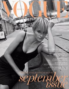 Vogue Korea September 2015 : Amber Valletta by Scott Trindle - the Fashion Spot