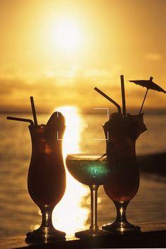 cocktails in cook islands | ... cocktails at sunset the rarotongan beach resort rarotonga cook islands