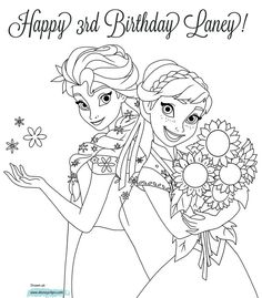 anna from frozen coloring pages | Click for larger image. Note ...