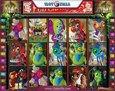 Take an inside look into a bug's life! Pub Crawlers is a recent Rival 5-reels free slot with hilarious characters and a great plot. Play it for absolutely free at slotozilla.com