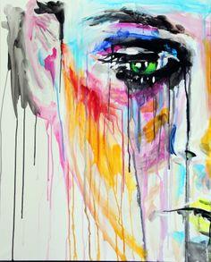 Yuliya Vladkovska Inspiration Art, Art Inspo, Street Art, Pics Art, Art Plastique, Love Art, Oeuvre D'art, Art Paintings, Indian Paintings