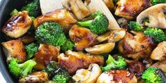 Honey Garlic Chicken Stir Fry A healthy chicken stir fry in honey garlic sauce.You can find Stir fry and mo. Chicken Recipes Video, Healthy Chicken Recipes, Asian Recipes, Recipe For Chicken Stir Fry, Easy Chinese Food Recipes, Healthy Stir Fry Sauce, Chicken Broccoli Stir Fry, Recipe For Broccoli, Gourmet