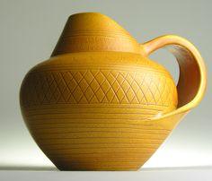 WK Wilhelm Kagel Studio West German Pottery Modern Mid 20th Century Vintage Retro