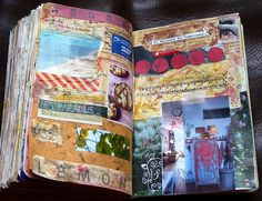 Visual Journal Pages