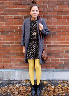 Fashion By Jo: Yellow Tights