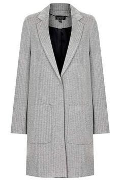 Monochrome Print Throw On Coat - Jackets & Coats - Clothing
