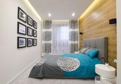 Biel i szarość przełamana niebieskimi i zielonymi akcentami - PLN Design Bedroom Windows, Bedroom Wall, Girls Bedroom, Bedroom Decor, Bedrooms, Cosy Room, Bedroom Styles, White Decor, Bedroom Inspo