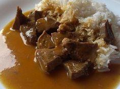 Jazyk naší Zdeny Vindaloo, Beef, Meat, Steak