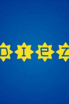 """Símbolos para adivinar ídolos históricos de Boca -  """"El Diez"""". El más grande de todos los tiempos. La referencia es a un escudo utilizado en una gira previa a su primer adiós a Boca"""