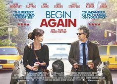 Keira Knightley and Mark Ruffalo in Begin Again Adam Levine, Maroon 5, Keira Knightley, Mark Ruffalo, Chick Flicks, Streaming Movies, Hd Movies, Begin Again Movie, The Secret Scripture