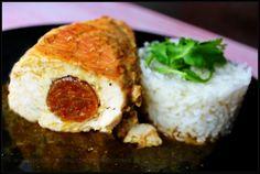 Peitos de frango recheados com farinheira ♥♥♥ - http://gostinhos.com/peitos-de-frango-recheados-com-farinheira-%e2%99%a5%e2%99%a5%e2%99%a5/