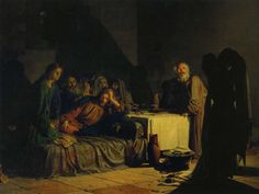 The Last Supper by Nikolai Ge