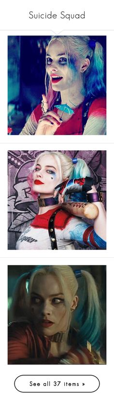 """""""Suicide Squad"""" by beelovesyouall ❤ liked on Polyvore featuring harley quinn, comics, dc comics, dc, pictures, images, margot robbie, movies, home and home decor"""