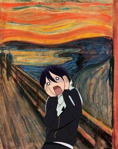 Read from the story Poze amuzante ANIME by LigiaOlivia (Ѽ l e m o n s Ѽ) with reads. Anime Love, Anime Ai, Kawaii Anime, Manga Anime, Noragami Bishamon, Noragami Manga, Yato And Hiyori, Anime Mexico, Noragami Cosplay