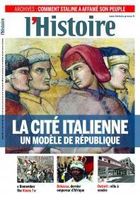La Cité Italienne, un modèle de république   L'Histoire, décembre 2013