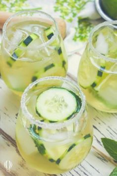 Cucumber & Green Tea Mojito  Move over Cosmopolitan, the C&GT Mojito is here! Make time for this in your plans this weekend and forget that Autumn is already here!    8 ingredients + a little patience = a tipsy tea tipple that's perfect for those needing a little more than just a strong tea!  Full recipe from @jerryjamesstone here... http://jerryjamesstone.com/recipe/cucumber-green-tea-mojito/    #beteatourist #teadiscovery