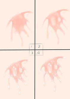 エッチな汁の描き方 [2] Digital Painting Tutorials, Digital Art Tutorial, Art Tutorials, Drawing Sketches, Art Drawings, Anime Poses Reference, Poses References, Drawing Base, Drawing Techniques