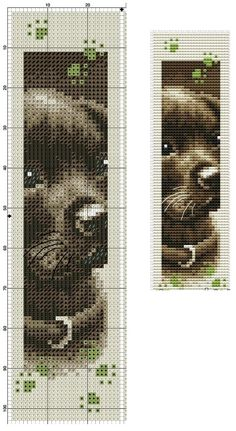 Puppy Bookmark (no key)