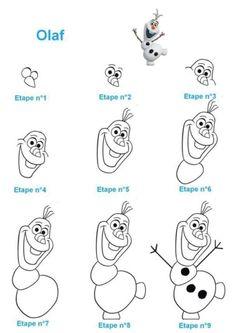Easy Disney Drawings, Disney Character Drawings, Disney Drawings Sketches, Easy Doodles Drawings, Easy Doodle Art, Cute Easy Drawings, Art Drawings For Kids, Art Drawings Sketches Simple, Easy Cartoon Drawings