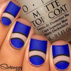 OPI 'Matte Top Coat' has ability to took the sheen from any nail polish. Your nails will be smooth and pretty just as on a picture above.