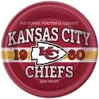 NFL Kansas City Chiefs Lunch Plates (8)