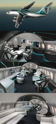 ABJ Q business jet, foi inspirada em James Bond