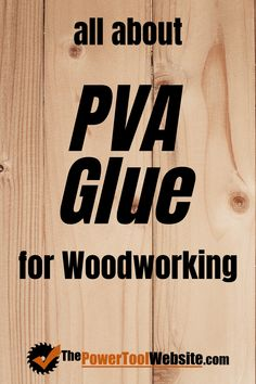 PVA glue for wood projects is very common and incredibly practical. Learn what it is why it's so great and how to pick it. Unique Woodworking, Woodworking Joints, Learn Woodworking, Woodworking Techniques, Easy Woodworking Projects, Wood Projects That Sell, Easy Wood Projects, Project Ideas, Diy Your Furniture