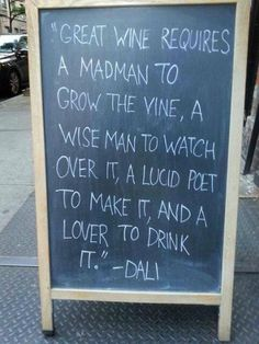 Check out our latest collection of fun #wine chalkboards and signs - http://wp.me/p3LSyI-Ob   via @winewankers: