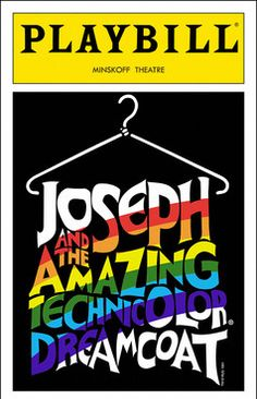 Joseph and the Amazing Technicolor Dreamcoat Playbill - Opening Night, Nov 1993