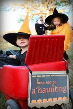 an outdoor Halloween party for kids