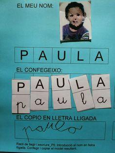 tresquatreicinc: DEL PAL A LA LLIGADA Nursery Activities, Kids Learning Activities, Pre Writing, Writing Skills, Cursive, 25 Year Anniversary, Language Lessons, Special Education, Lesson Plans