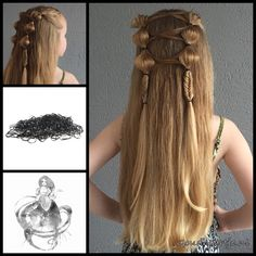 Simple mixed hairstyle with strong hair elastics from the webshop www.goudhaartje.nl (worldwide shipping). #hair #hairstyle #girly #longhair #plait #plaits #trenza #beautifulhair #gorgeoushair #stunninghair #braid #braids #hairinspo #hairinspiration #hairideas #braidideas #hair #hairstyle #instahair #instabraid #hairaccessories #vlecht #haar #haarstijl #langhaar #haaraccessoires #goudhaartje #fishtail #fishtailbraid #bubblebraid #hairelastic #hairaccessories #hairstylesforgirls