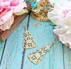 Simply Gypsy Earrings Bohemian Earrings  by rosesandlemons,