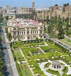 1000 images about m laga on pinterest malaga malaga for Jardines de puerta oscura