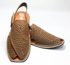 Peshawari Chappal Made Of Pure Leather And Covered With