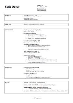 Resume And Sample Resume On Pinterest The Professional Cv On A Paper Is A  Twopage Resume