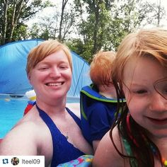 Pool time is always the best ❤️ #Repost @lteel09 with @repostapp. ・・・ #livebeyoutifultoday