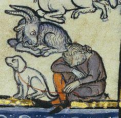 Hugo of Fouilloy, author; Unknown illuminator   Franco-Flemish, Thérouanne?, about 1270