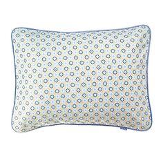 Goldenrod Mosaic Sham for our Designer Boys Bedding | Serena & Lily