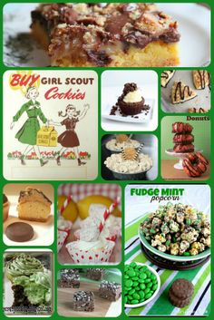 Top 10 Girl Scout Cookie Inspired Recipes from Pink Cake Plate