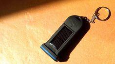 Ηλιακός φακός με σειρήνα για προστασία