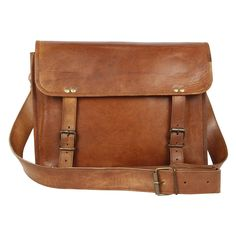 Rustic Town Handmade Leather Vintage Messenger Bag gift him her -- Check this awesome product by going to the link at the image.