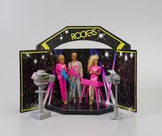 Barbie and the Rockers Stage Set