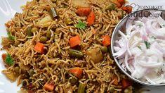 Coriander Seeds, Fennel Seeds, Coriander Leaves, Vegetable Rice Recipe, Rice Recipes, Cooking Recipes, Veg Biryani, Food Videos, Recipe Videos