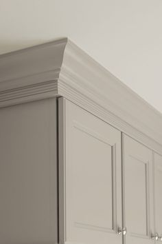 Aristokraft has several cabinet mouldings in PureStyle Antique, Glacier Gray and White finishes that are beautiful and durable, but won't break the bank.