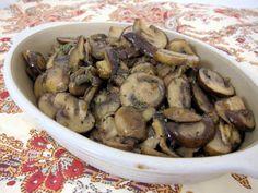 Steakhouse Sautéed Mushrooms