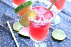 Watermelon Margaritas beverages