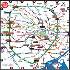 Tokyo Tourist Map in English with the Best Sightseeing Attractions Tokyo Tourist Spots, Attractions In Tokyo, Tokyo Map, Japan Travel, Japan Trip, Travel Maps, Family Travel, Good Things, Vacations
